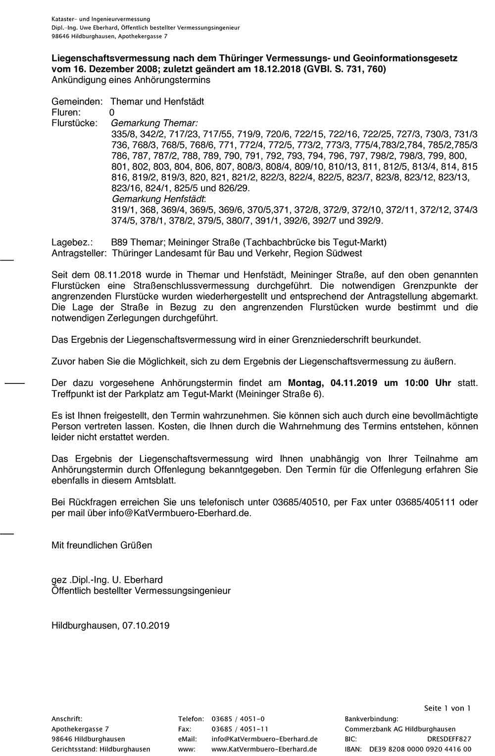 Bekanntmachung-AHT-Themar-Henfstaedt-SSV