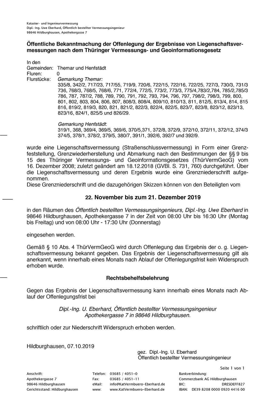 Bekanntmachung-Offenlegung-Themar-Henfstaedt-SSV